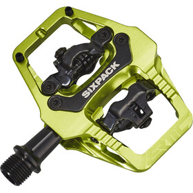 Sixpack Vertic Trail Pedale electric green